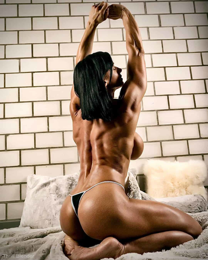 Bildmischung: Hot Fit Girls Amazing Physiques